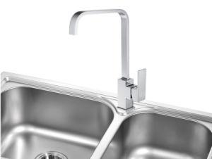 Nuevo diseño grifo de cocina de latón cromado Grifo lavabo – Nuevo ...
