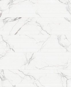 Carrara-weiße Sehen-Gezogene Oberflächenmarmorporzellan-Fußboden-Wand-Fliese