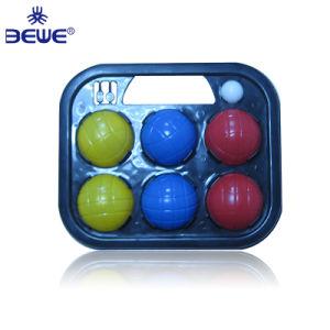 Ecológico de plástico com água Bocce ball definido