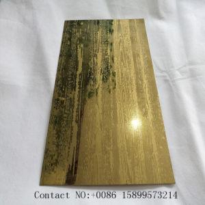 SUS304浮彫りにされた終わりを用いる金カラーステンレス鋼シート