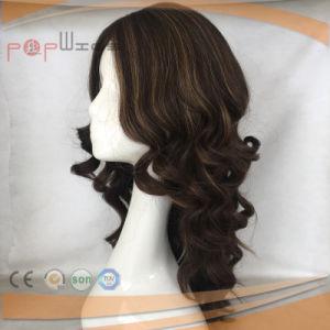 高品質の絹の上の熱い販売のかつら(PPG-l-027)