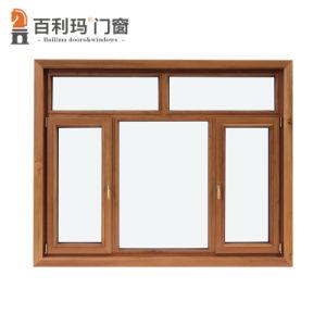 Алюминиевые деревянные окна поворота на вилле в роскошном стиле