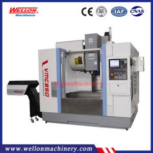 Centro de mecanizado de fresado vertical CNC de alta precisión Vmc850