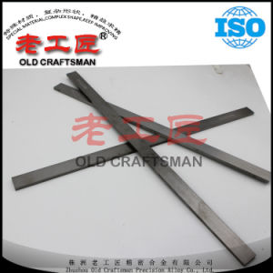 Carboneto cimentado do tungstênio Non-Magnetic Hip da tira da ferramenta Yn8 para a fatura da telha