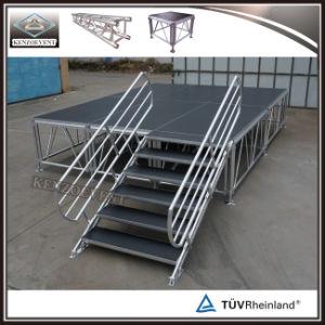 Stade de l'Assemblée mobile en aluminium portable plate-forme de l'étape pour le concert