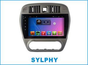 차 GPS 항법 차 Bluetooth를 가진 Sylphy에서 인조 인간 차 DVD 플레이어