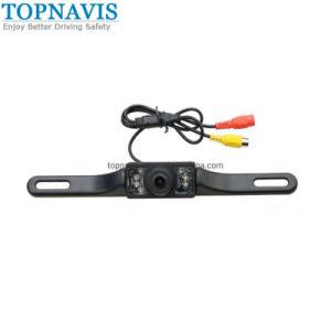 Aluguer de visão nocturna à prova de câmera para visão traseira na placa de licença com 8 LED de luz branca
