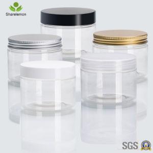 概要の包装のための300mlペットプラスチック食糧装飾的なクリーム色の瓶