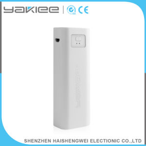 Comercio al por mayor banco de energía móvil portátil ABS con luz LED
