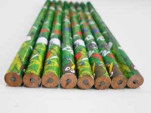 Matita rotonda di giro del banco della matita della vernice della matita dell'allievo della matita