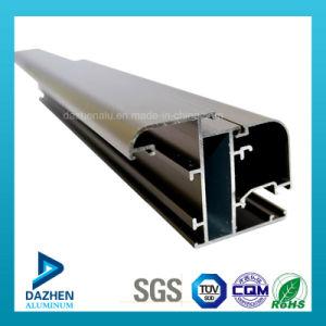Perfil de aluminio modificado para requisitos particulares de la protuberancia de África Etiopía del polvo de la puerta revestida de la ventana
