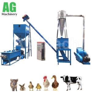 De professionele Machine van de Korrel van het Dierenvoer van de Machine van het Voedsel van het Gevogelte voor Kip, Varken, Schapen, Eend, Vee