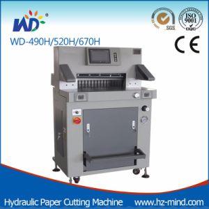 Tagliatrice del documento di macchina di carta (WD-520H)