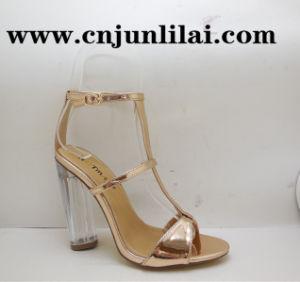 Mode Femmes Chaussures à talon transparent