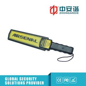 Metal detectori tenuti in mano di zona Non-Cieca dell'allarme di Alto-Luminosità LED