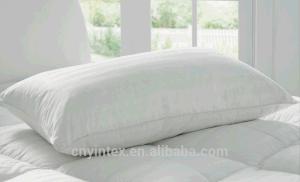 Оптовая торговля с белой полоской укрепить ткань из микроволокна вниз подушки