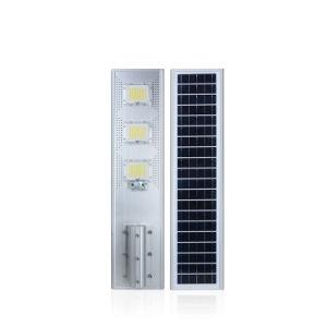 Precio al por mayor de Control Remoto de ABS con protección IP65 60W 120W 180W en una sola calle luz LED Solar