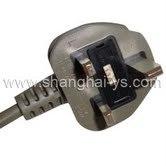 イギリス(YS-55)のためのFuseの証明されたPower Cord Plug