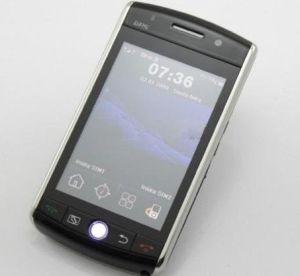 F035 GPS van de Band van de Vierling van WiFi de Dubbele Telefoon van de Cel van het Scherm van de Aanraking van TV van de FM van de Camera