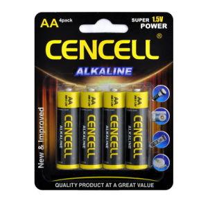 Hohe trockene alkalische Batterie der Kapazitäts-AA