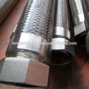 Tubo flessibile ondulato anulare del metallo della flessione dell'acciaio inossidabile con il capezzolo del NPT