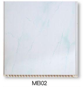 Dessins et modèles artistique moderne de la résine de PVC Salle de bains la tuile de bord (25cm - MB02)