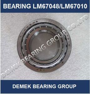 Banheira de vender Timken polegadas do Rolamento de Roletes Cônicos LM67048/LM67010 Definir6