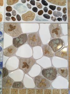 De groene Glanzende en Matte Suiker verglaasde Ceramische Vloer Verglaasde Tegel