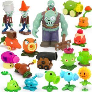 OEM de Hete Rubberplanten van het Stuk speelgoed van de Eend van het Bad van de Kinderen van het Jonge geitje van het Embleem van de Verkoop Plastic versus Muzikale Dinosaurus van Clownfish van het Beeldverhaal van Doll van de Sleeplijn van Zombieën de Leuke