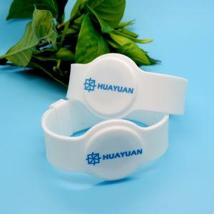 À prova de água e NTAG ajustável213 bracelete de silício da pulseira de NFC