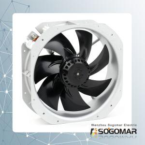 Lärmarmer Panel-Ventilator 280X280X80mm 220-240V Wechselstrom 105W