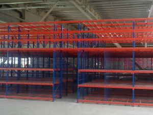 Mezzanine van het Roestvrij staal van de Opslag van Wareshouse