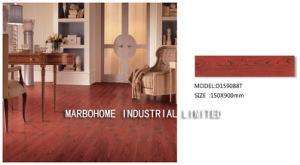 tegel van de Plank van de Tegel van de Vloer van het Porselein van 150*900mm de Rode Houten