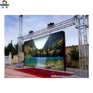La Chine fournisseur P4.81 P3.91 l'extérieur de la publicité de SMD pleine couleur Affichage LED de location