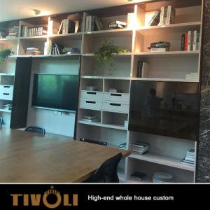 Wohnzimmer-Möbel-Fernseher-Media-Schrank-Buch-Regalentwurf Zoll TV-0593