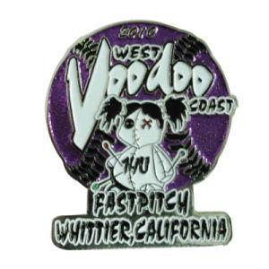 記念品メダル(174)の顧客用カリフォルニア海岸のバッジの折りえりPin