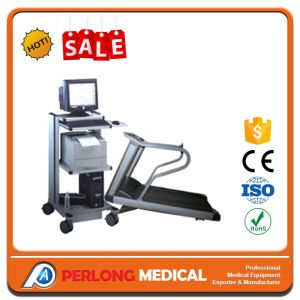 La estación de trabajo ECG del monitor de ECG inalámbrico con cinta de correr; ECG-8000s