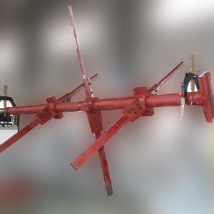 큰 회전자를 위한 수평한 끝 드라이브 균형을 잡는 기계