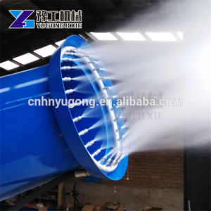 Cannoni della nebbia per soppressione della polvere di miniera