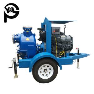 Moteur diesel de 6 pouces Self-Priming Traitement des eaux usées de la pompe centrifuge