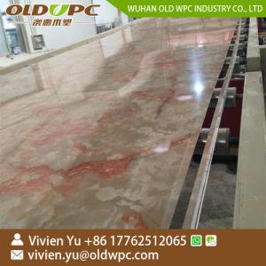 Linea di produzione di marmo di plastica dello strato dell'espulsione Machine/PVC dello strato del PVC