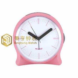 Diseño simple de plástico Henghui Dormitorio mesa / Despertador