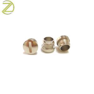 Высокое качество обработки ЧПУ из нержавеющей стали с прорезями/Iron фиксаторы крепления мужского пола