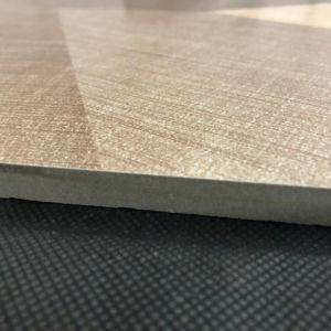 Tegels 60*60 van de Vloer van de kunst de Bruine Geometrische Cijfer Verglaasde