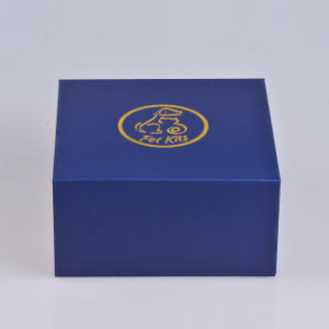 Роскошный золотая фольга пользовательское поле фальцовки печати для одежды