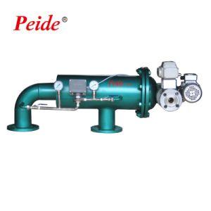 HVAC及び冷却塔の水処理システムのための自浄式のブラシフィルター