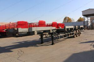 반 20FT 40FT 45FT 53FT 해골 콘테이너 수송 트럭 트레일러