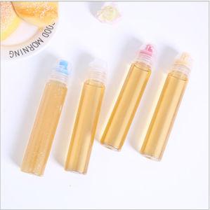 明確なペット口カバーによって包むプラスチックびんの蜂蜜