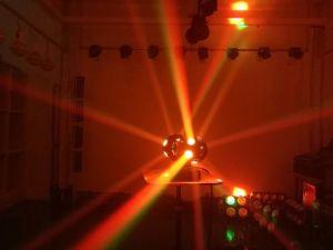 Etapa de luz LED 10W 12pzas moviendo la cabeza parte discoteca