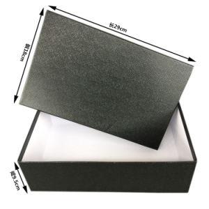 의류 포장/주문 의복 포장 상자를 위한 고품질 뚜껑 그리고 기본 상자